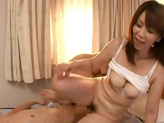 Hot Japanese Mom and younger guy 3180