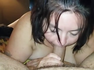 Mature Deepthroat - Cum in Mouth