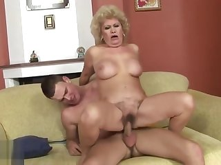 Delightful woolly mature lady Effie in wild hardcore drilling