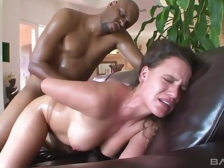 Hot Insterracial Scene From Big White Wet Asses