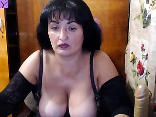 Mature Big Boobs Webcam Show
