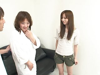 Kinky and nasty Japanese likes to play all lesbian sex games