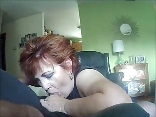 My wife is a fellatio artist and she can suck my dick while being blindfolded